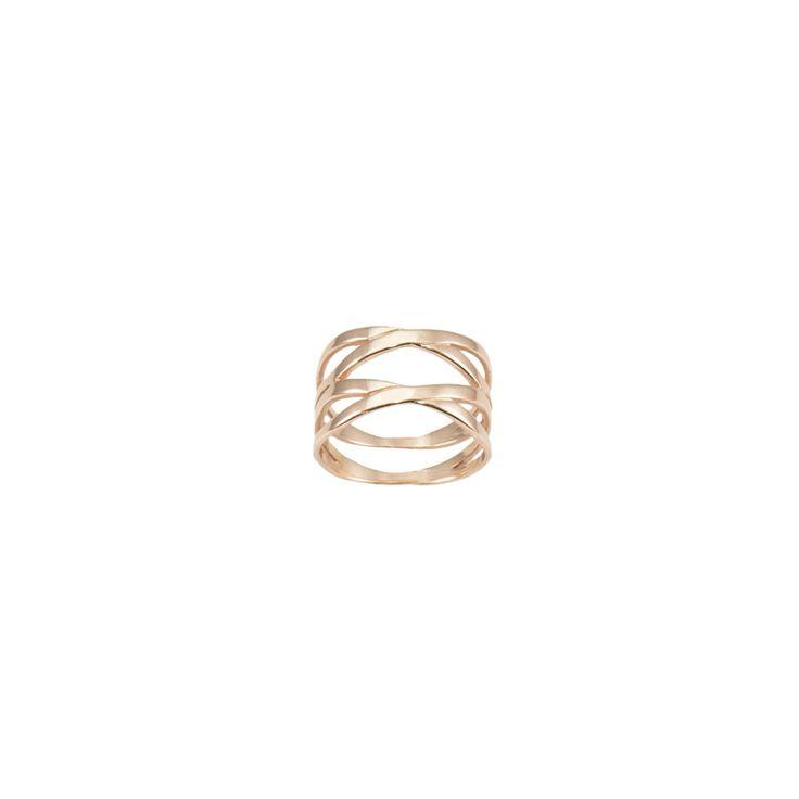 Δαχτυλίδι από ροζ επιχρυσωμένο ασήμι 925. - ΔΑΧΤΥΛΙΔΙΑ | Anna Maria Mazaraki
