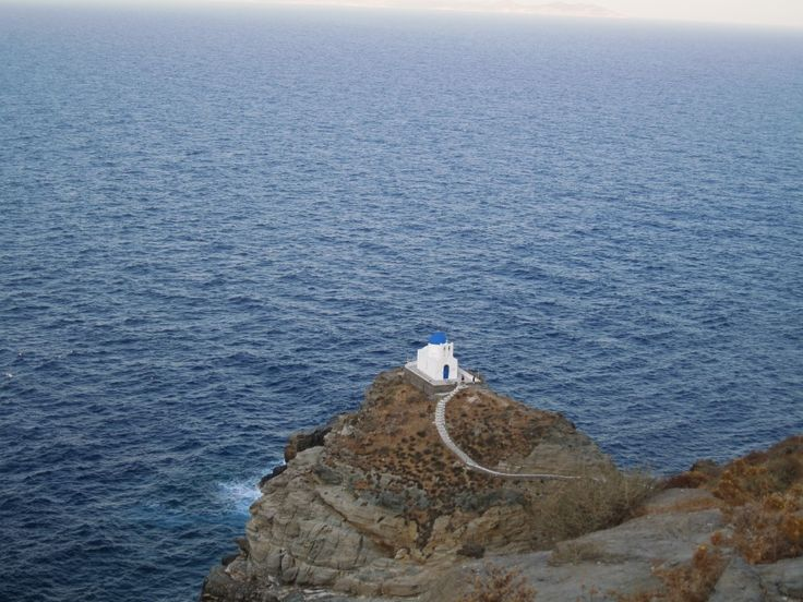 Sifnos, Kastro, Cyclades, Greece.