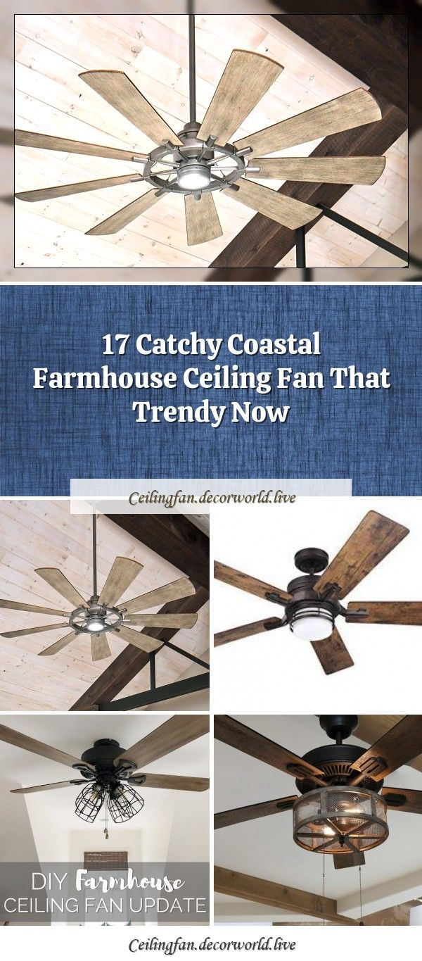 50 Best Farmhouse Ceiling Fans And Rustic Ceiling Fans For 2020