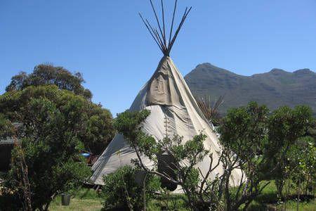 Cape Town - Noordhoek Tipi accom
