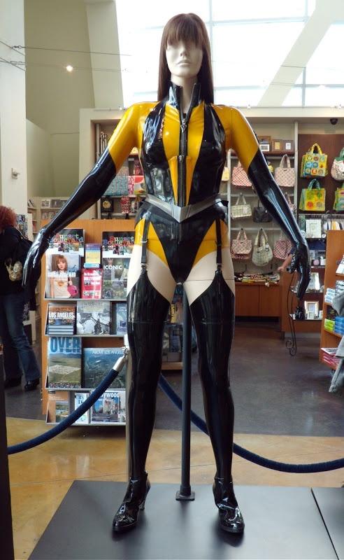 """From """"Watchmen"""" (2009) worn by Malin Akerman as Laurie Jupiter / Silk Spectre II design by design by Michael Wilkinson"""