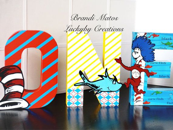 Dr Seuss Birthday Party Dr Seuss party dr by LuckyByCreations