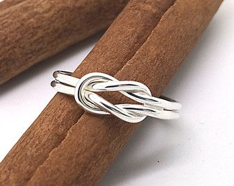 Nautical Rings: Silver Sailors Knot Ring by BlueRidgeNotions