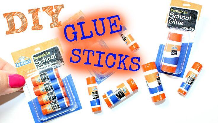 Miniature Glue Stick! DIY American Girl Doll Glue Stick Craft