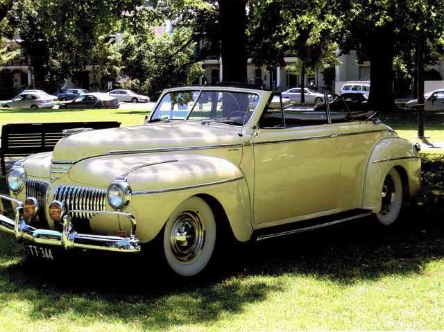 De Soto 1941 Convertible Art Deco Classic | CARS AND