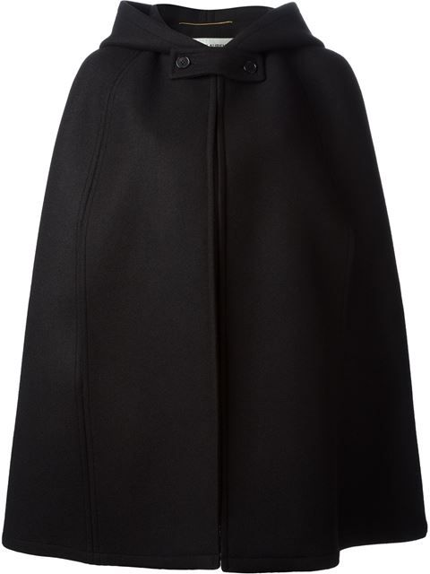 Shop Saint Laurent felted cape in Pozzilei from the world's best independent boutiques at farfetch.com. Over 1000 designers from 60 boutiques in one website.