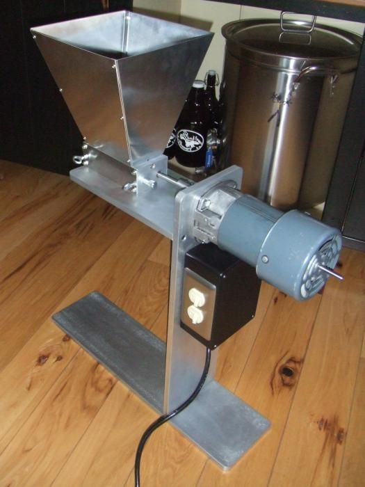 motorized grain mills time to show them off page 19 home brew rh pinterest com