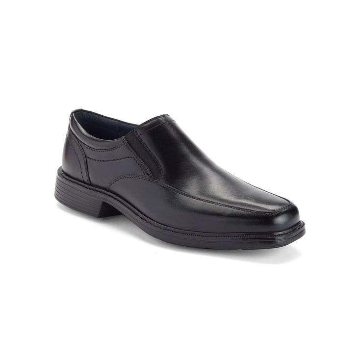 Nunn Bush Calgary Men's Dress Loafers, Size: medium (10.5), Black