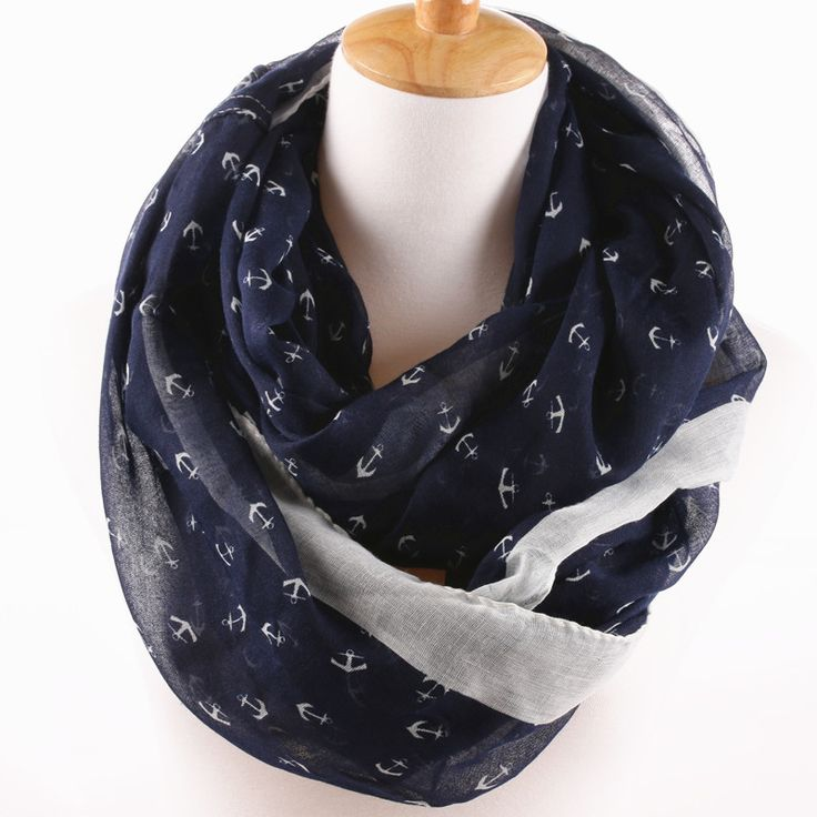 Maisie Infinity Anchor Scarf