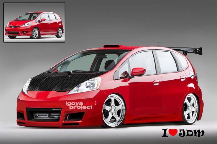 Honda Jazz-Fit 2010 by gilangorangyanganeh.deviantart.com on @deviantART
