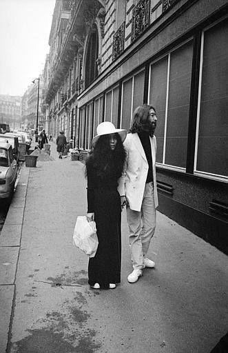 ♡♥John Lennon on honeymoon in Paris with Yoko Ono♥♡