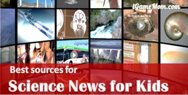 Reading science news has many benefits for kids, where do you find age appropriate science news for kids? Look no further, here are the best 11 sources.