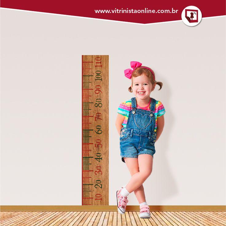 """Nossa """"régua de crescimento infantil madeira"""" é a coisa mais fofa e fica linda no quarto do seu filho ou em sua loja."""