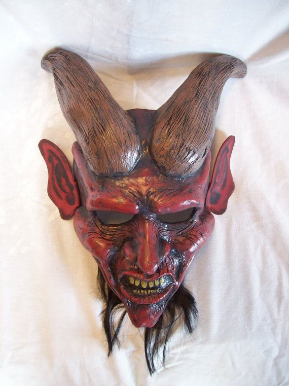 Devil mask by coffinhunter13 on Etsy