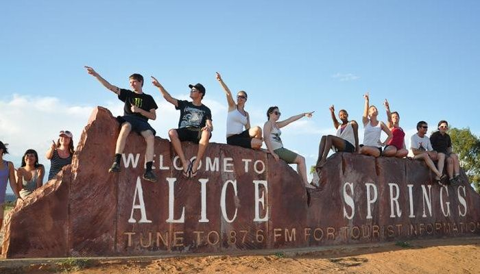 Welcome to the famous Alice Springs!