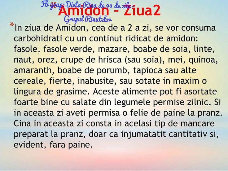 Amidon - ziua 2
