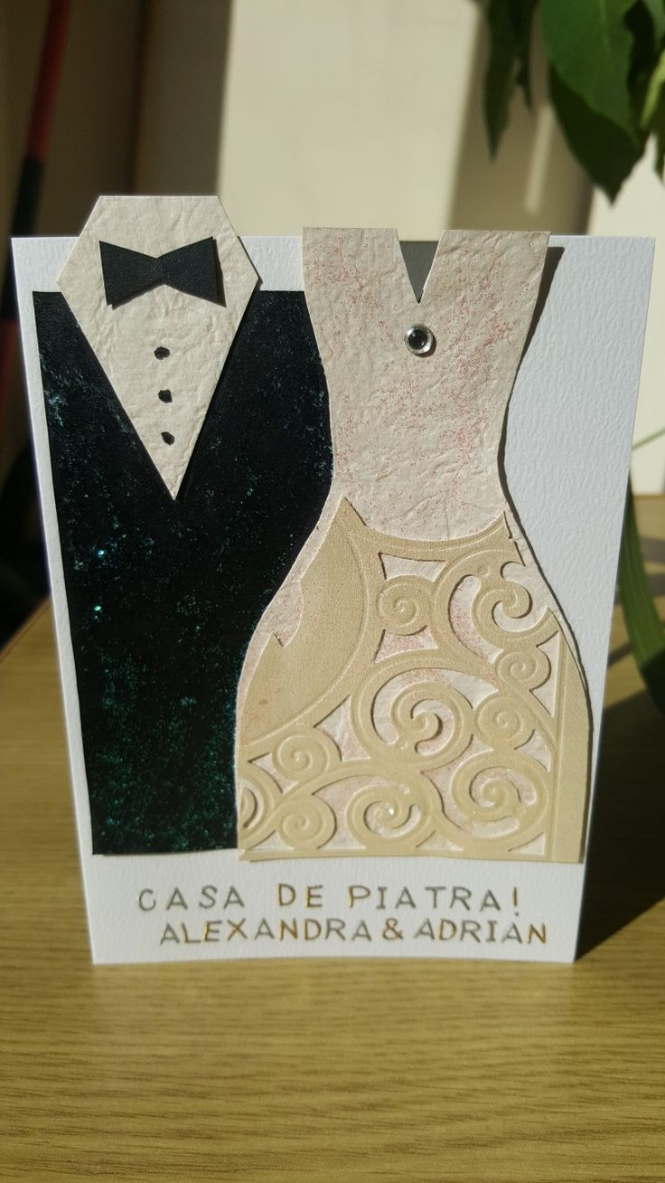 Wedding card A&A