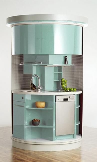 17 best images about kitchen small space ideas on for Space saving ideas for small kitchens
