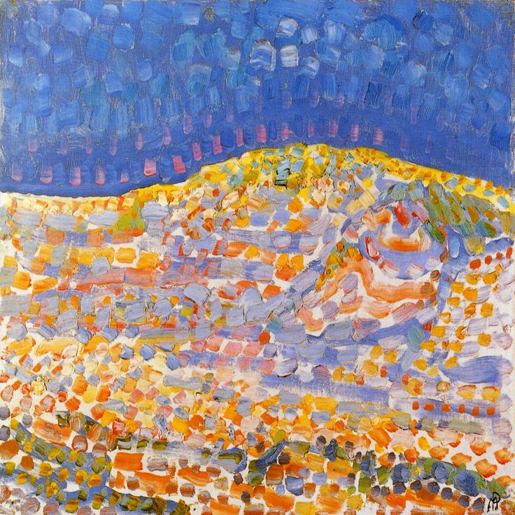 """Dune ll"" by Piet Mondrian"