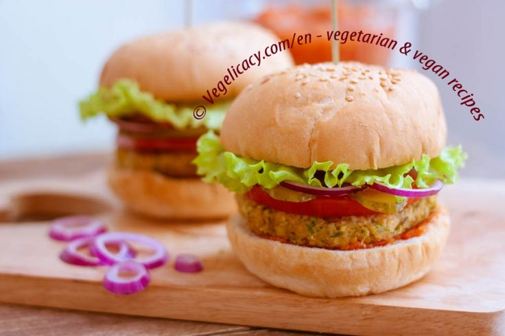 Chickpea Corn Burger | vegelicacy.com