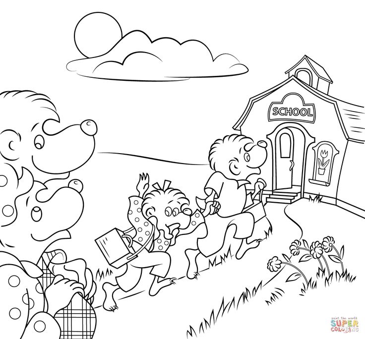 Outstanding Berenstain Bears Printable Coloring Pages Became Luxurious Article