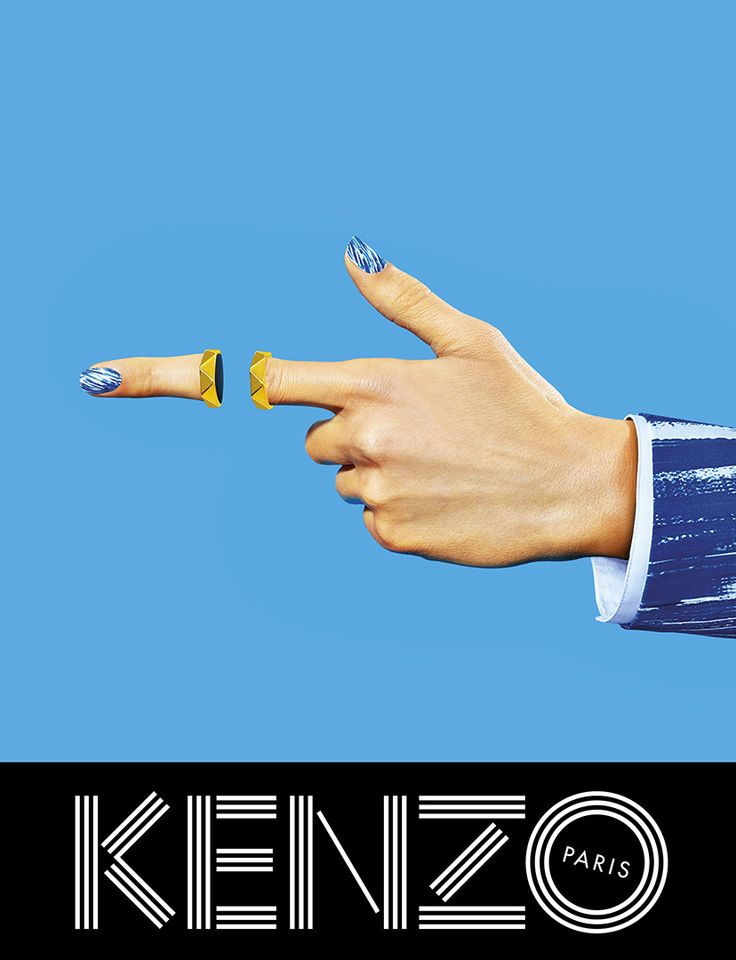 KENZO Spring/Summer '14 campaign ad
