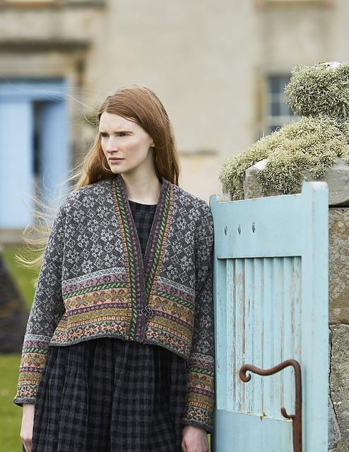 Marie Wallin Yell sweater kits.