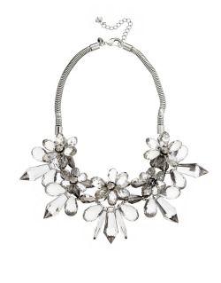 COAST fray floral necklace