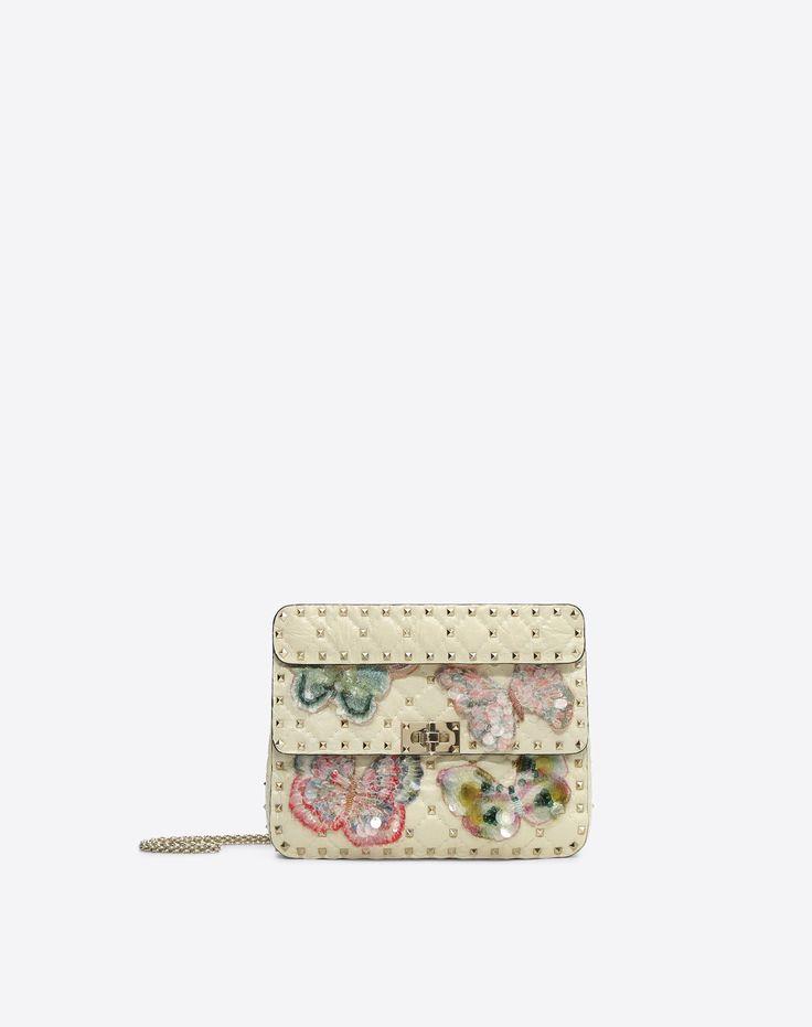 Women's Rockstud Spike.It Medium Chain Bag Valentino   Valentino Online Boutique US