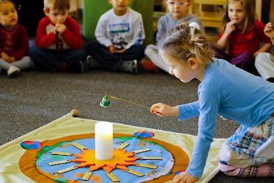A montessori birthday and work day