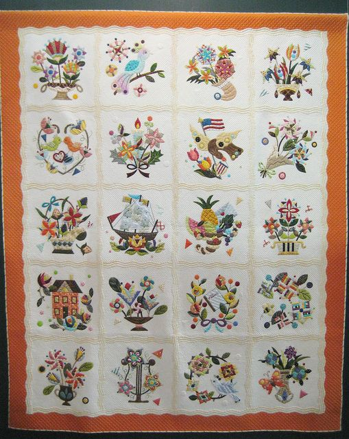 422 Best Baltimore Quilts Images On Pinterest Baltimore Sampler