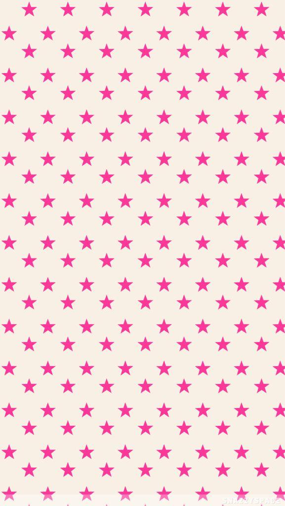 Pink Stars on Tan. on We Heart It