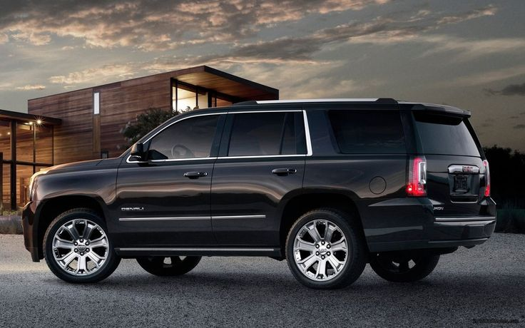 2015 GMC Yukon Denali aka the sweetest car in da world!!!