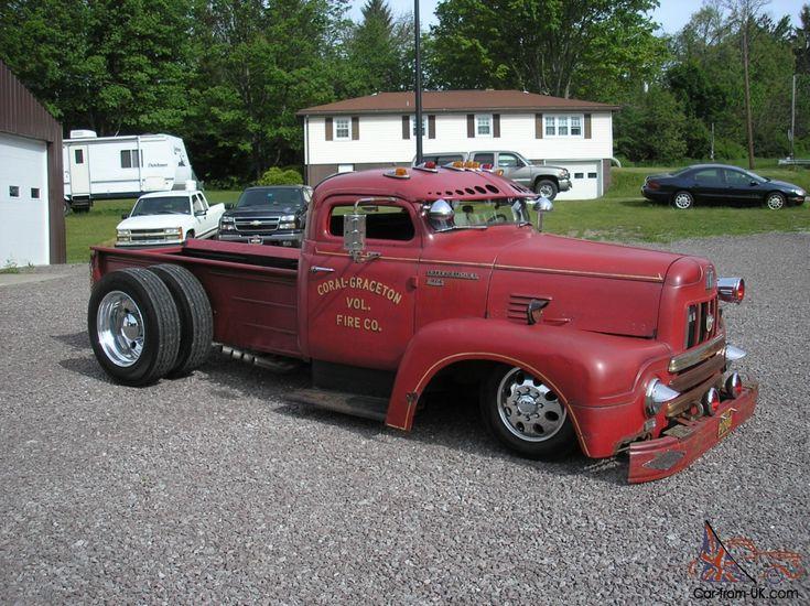 Rat Rod - Cummins Diesel Fire Truck