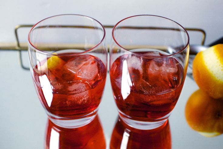 Boulevardier (also possible to try with dry vermouth instead of sweet)