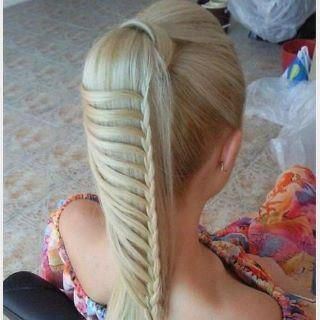 braid hair cabelo trança..I'm gonna need to do this on someone at the salon