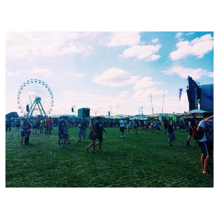 T in the park festival Scotland 2014