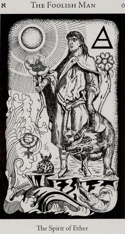 hermetic tarot - the foolish man If you love tarot, visit me at www.WhiteRabbitTarot.com