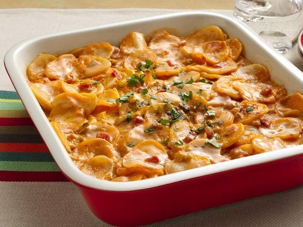 Creamy Salsa Potatoes: Side Dishes, Salsa Potatoes, Scallops Potatoes, Potatoes Recipe, Scalloped Potatoes, Creamy Salsa, Betty Crocker, Potato Recipes, Boxes Potatoes