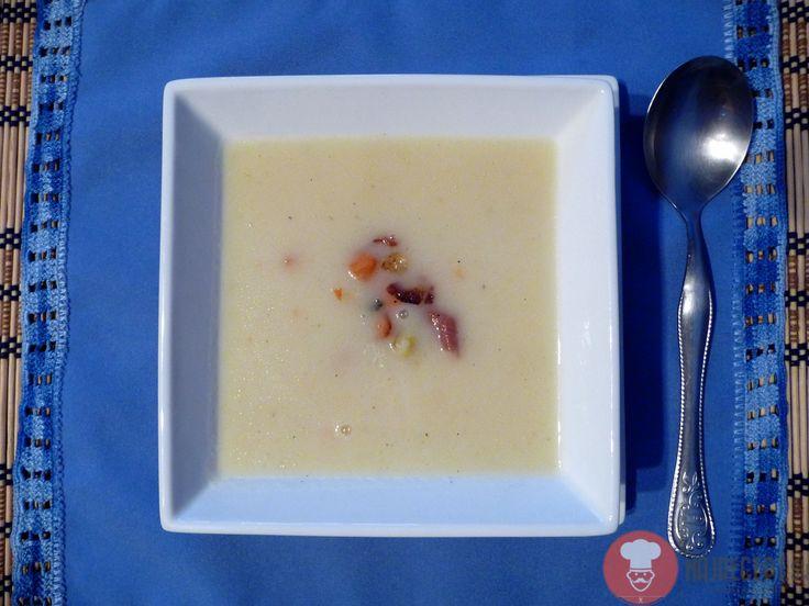 Fotorecept | Jemná zelerová polievka