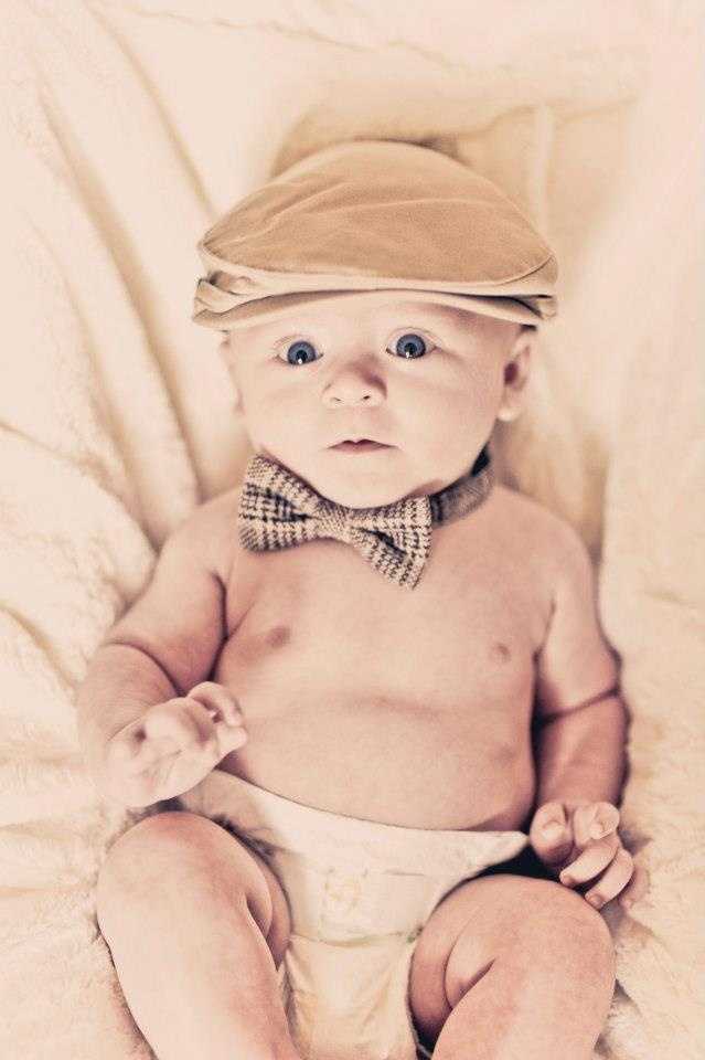 3 Month Baby Pictures...he looks like a little old man!! I love it!! SO STINKIN' CUTE!!!!!!