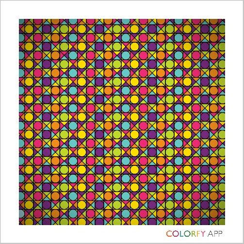 Great idea for colorfy paterns try this☆☆☆