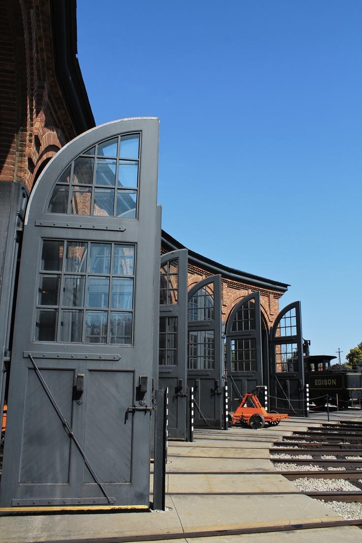The roundhouse in Greenfield Village at the Henry Ford Museum in Dearborn. We are new members here. It's worth a 2-hour drive to see so much American history in one place. http://www.hfmgv.org/index.aspx