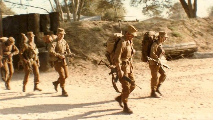 SADF foot soldiers during border war.