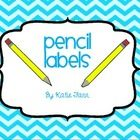 Tired of pencils all over the room? Need a designated spot for sharp and dull pencils? Then I have got some pencil labels for you!  Just print, lam...