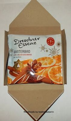 bastelzauberin: Badesalz Verpackung mit dem Envelope Punch Board /Anleitung/ Workshop /Tutorial