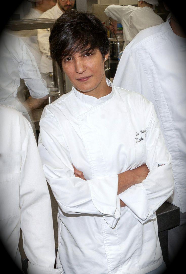 Conoce a nuestra Chef: educada en los fogones de Juan Mari Arzak o Daniel Lopez, es un referente de la Cocina Vasca mas actual!!