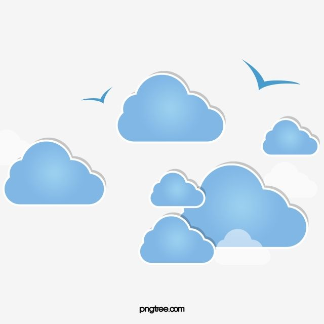 Blue Cloud Png Transparent