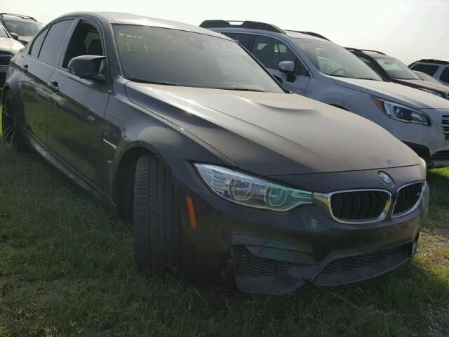 Salvage 2017 Bmw M3  Sedan For Sale | Flood Title