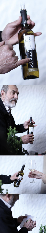 Miquel Jaume ist Physiklehrer und Winzer. Ausführliche, sehr technische und komplizierte Erklärungen zum Aufbau seiner Weine bleiben da nicht aus. Das mindert in keinster Weise den frischen und starken Geschmack seiner Weine! #wine #fair #winefair #messe  #weinmesse #tasting